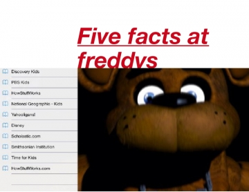 Five nights at freddys 2 facts