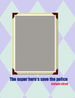 The super man comic book