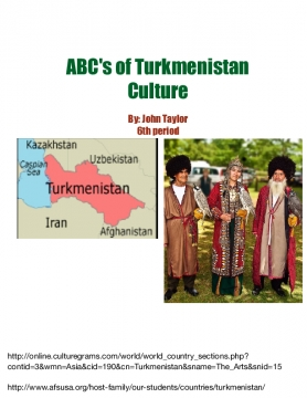 ABC's of Turkmenistan Culture
