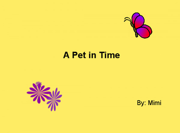 A Pet in Time