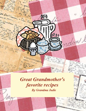 Great Gransmother's recipes