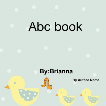 Abc reflection book