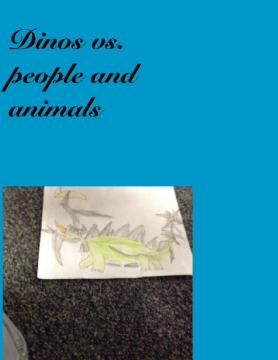 Dinos v.s.people and animals