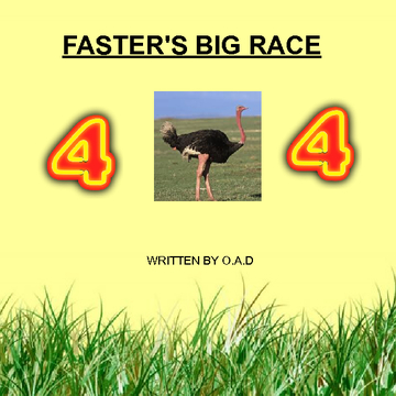Faster's big race