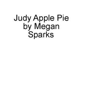 Judy Apple Pie