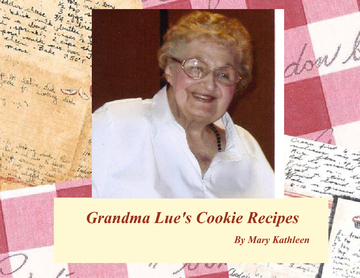 Grandma Lue's Cookie Recipes