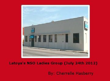Latoya's NSO Ladies Group (July 24th 2012)