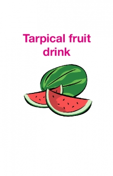Torapical fruit drink
