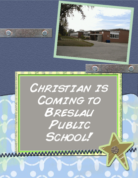 Christian is Coming to Breslau Public School