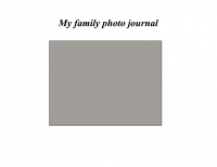 My Family photo Journal