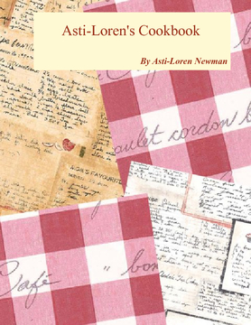 Asti-Loren's Recipe Book