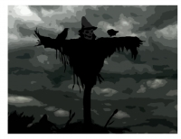 the old scarecrow