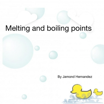 Melting point & boiling point