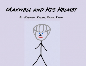 Maxwell and His Helmet