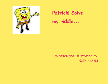 Solve my riddle
