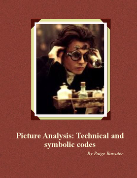 Picture analysis: Techinical and symbolic codes