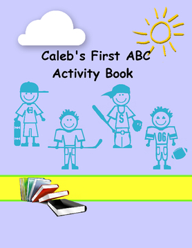 Caleb's First ABC Activity Book