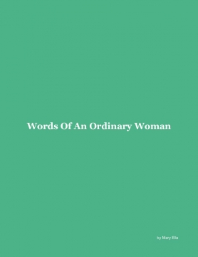 Words of an Ordinary Woman