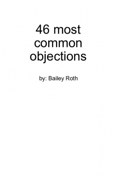 46 most common objections