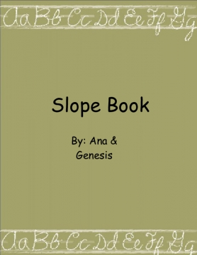 Slope Book