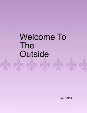 Welcome to The Outside