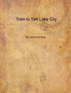 Train from Omaha to Salt Lake City