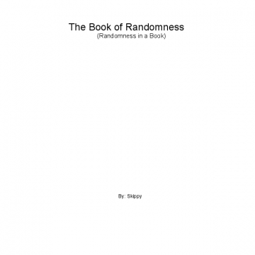 The Book of Randomness