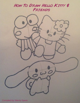 How To Draw Hello Kitty & Friends