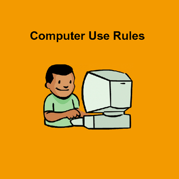 Computer Use Rules