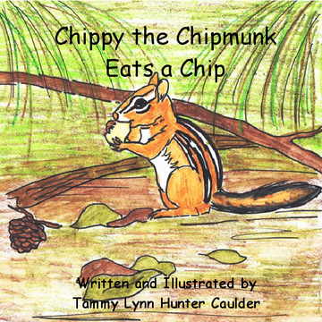 Chippy The Chipmunk Eats A Chip