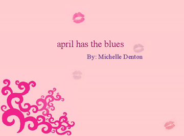 april has the blues