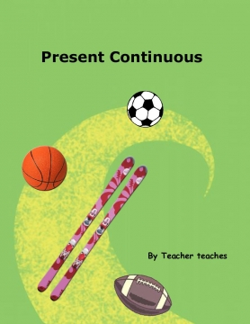 Possessive adjectives- present continuous