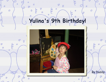 Yulina's 9th Birthday