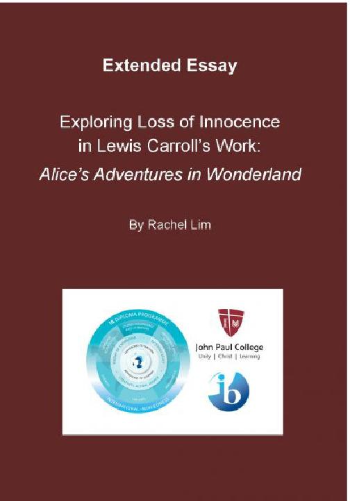 essay on loss of innocence
