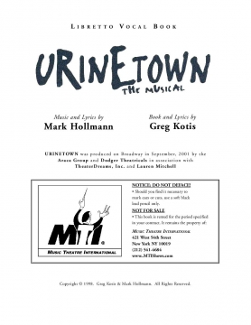 Urinetown Libretto Vocal Book