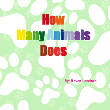 How Many Animals Does A Person Need?