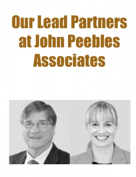 Our Lead Partners at John Peebles Associates
