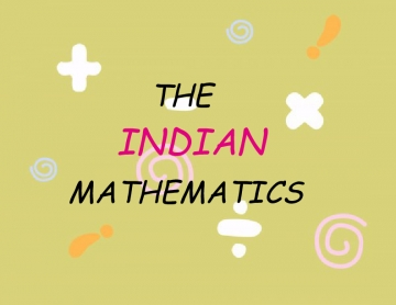 the indian mathematics
