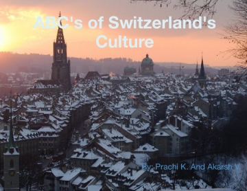 Abc's of Switzerland's Culture