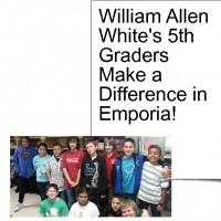 William Allen White 5th Graders Make a Difference!