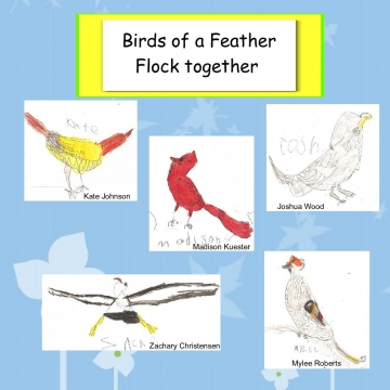 Kindergarten Alphabirdy Book PM
