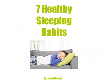 7 Healthy Sleeping Habits