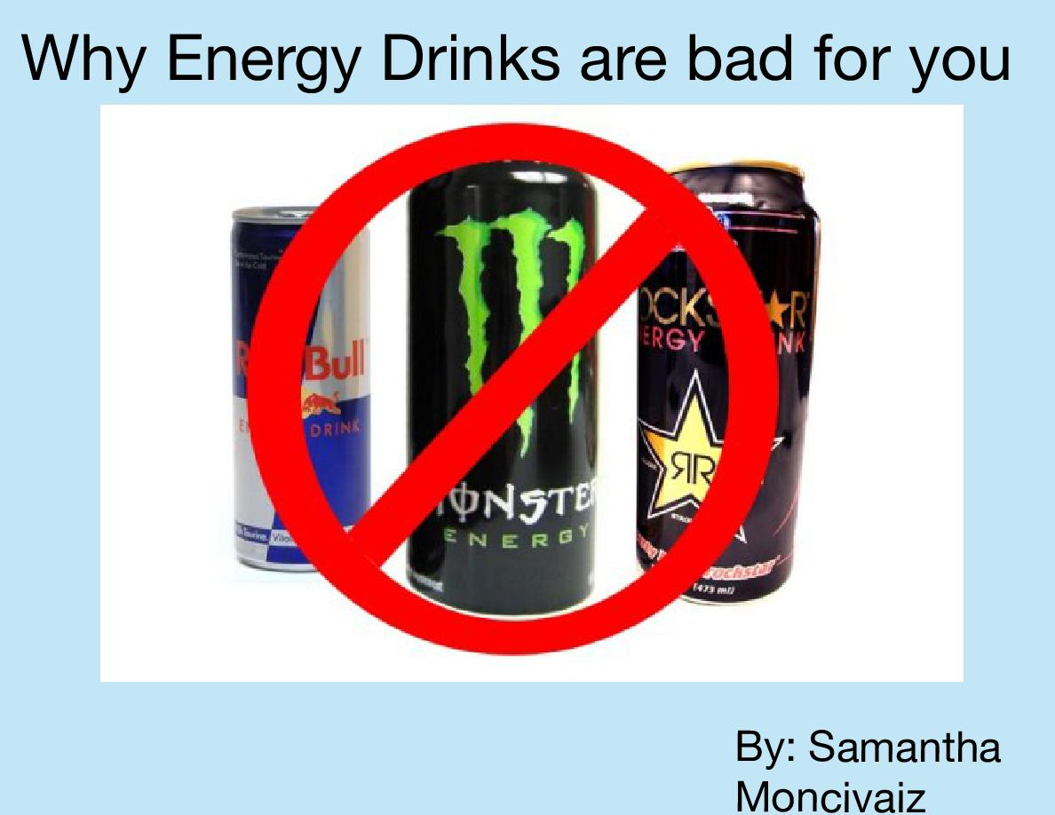 energy drinks 3 essay What's the buzz about energy drinks they recommend no more than 2-3 servings a day of caffeinated beverages, preferably served along with food.