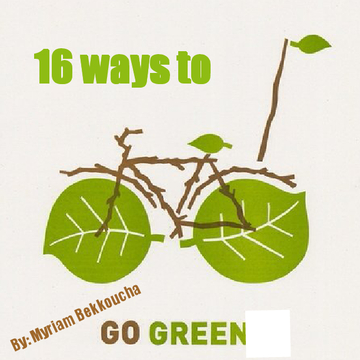 16 ways to go green