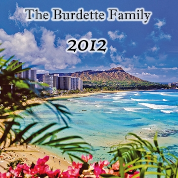 The Burdette Family 2012