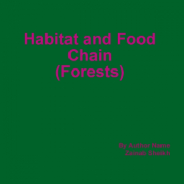 Habitat and foodchain