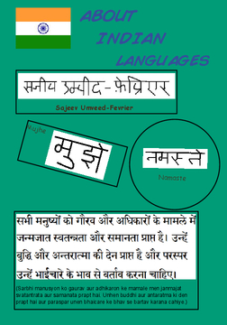 About Indian Languages