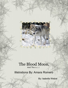 The Blood moon and the wolf