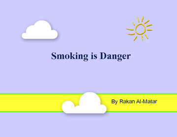 Smoking is Danger
