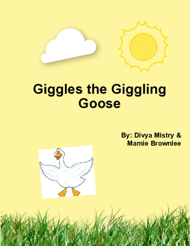 Giggles the Giggling Goose